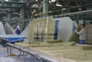 Výroba sendvičových stien