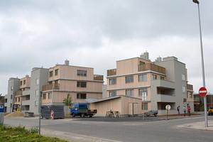 Bytové domy v ulici Seefeldergasse
